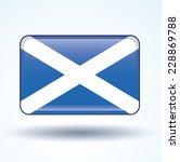 flag of scotland  vector...