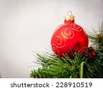 christmas decoration | Shutterstock . vector #228910519