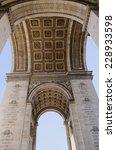 triumphal arch seem from below. ...   Shutterstock . vector #228933598