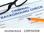criminal background check... | Shutterstock . vector #228936508