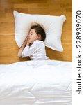 portrait of little girl... | Shutterstock . vector #228939070