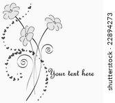 valentine's flowers | Shutterstock .eps vector #22894273