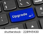computer notebook keyboard with ... | Shutterstock . vector #228945430