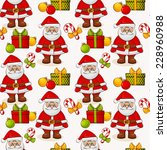 merry christmas and happy new...   Shutterstock .eps vector #228960988