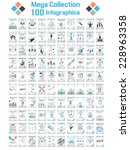 mega collections of hundred... | Shutterstock .eps vector #228963358