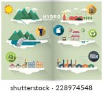 hydro graphic | Shutterstock .eps vector #228974548