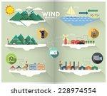 wind graphic | Shutterstock .eps vector #228974554