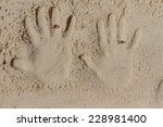 Two Hand Prints With Wedding...