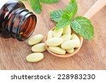 vitamin pills.   Shutterstock . vector #228983230