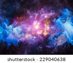 Colors In Space Series. Design...