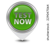 test now pointer icon on white...   Shutterstock . vector #229047064