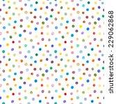 watercolor seamless pattern. ... | Shutterstock .eps vector #229062868
