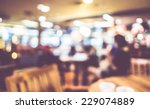 blurred background   vintage... | Shutterstock . vector #229074889
