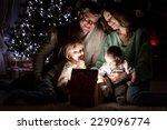 parents with children is... | Shutterstock . vector #229096774