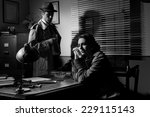 Detective Interviewing A Young...