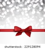 shiny silver christmas... | Shutterstock .eps vector #229128094