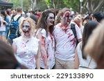 Постер, плакат: Zombies at Sydney Zombie