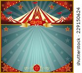 night fun circus square. a... | Shutterstock .eps vector #229150624