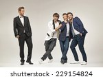 group of successful businessmen | Shutterstock . vector #229154824