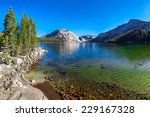 crystal clear lake and... | Shutterstock . vector #229167328