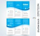 brochure design template vector ... | Shutterstock .eps vector #229172194