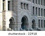 front of brick building | Shutterstock . vector #22918