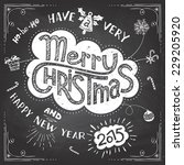 Merry Christmas Chalkboard...