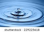 water drop close up   Shutterstock . vector #229225618