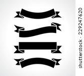 ribbons set | Shutterstock .eps vector #229247620