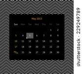 Simple Minimalistic Calendar...