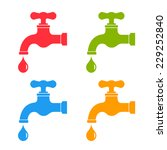 water tap icon   Shutterstock .eps vector #229252840