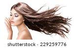 fashion model girl portrait... | Shutterstock . vector #229259776