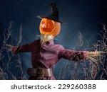 Halloween Scarecrow With Jack ...