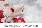 photo of santa claus with... | Shutterstock . vector #229281460