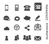 web communication | Shutterstock .eps vector #229299496