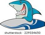 white shark | Shutterstock .eps vector #229334650