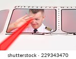 Pilot Blinded By Laser Beam