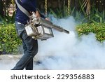 fogging mosquito to prevent of... | Shutterstock . vector #229356883