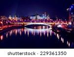 Moscow Kremlin. Night Scene....