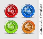 book now colorful vector icon... | Shutterstock .eps vector #229384600