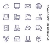cloud computing   internet... | Shutterstock .eps vector #229399933