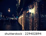 night city in the christmas time | Shutterstock . vector #229402894