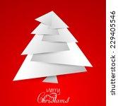 vector christmas background for ... | Shutterstock .eps vector #229405546