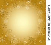gold background   vector... | Shutterstock .eps vector #229422046