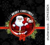 santa christmas design | Shutterstock .eps vector #229433824