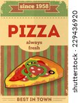 food poster. advertise with... | Shutterstock .eps vector #229436920