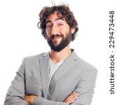 young crazy man | Shutterstock . vector #229473448