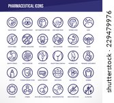 pharmaceutical medical icons... | Shutterstock .eps vector #229479976