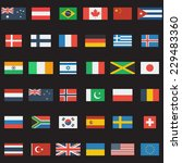 world flags collection. 36... | Shutterstock . vector #229483360
