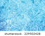 Abstract Frozen Background Of...